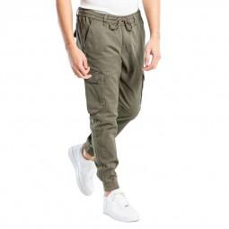 Pantalon cargo Reell Reflex Rib kaki