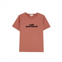 T-shirt Grace & Mila Beau rose café gourmand