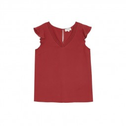 Top Grace & Mila Blue marsala