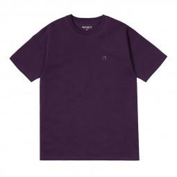 T-shirt manches courtes femme Carhartt Commission violet