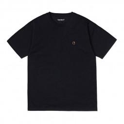 T-shirt manches courtes femme Carhartt Commission noir