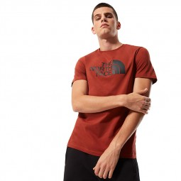T-shirt The North Face S/S Easy Tee marron