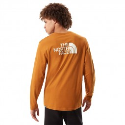 T-shirt The North Face Easy Tee marron