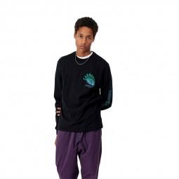 T-shirt manches longues Carhartt Remix noir