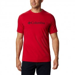 T-shirt col rond Columbia CSC Basic rouge