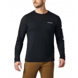 T-shirt manches longues Columbia Miller Valley noir