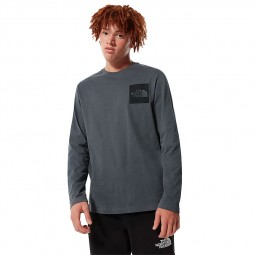 T-Shirt manches longues The North Face Fine Tee gris