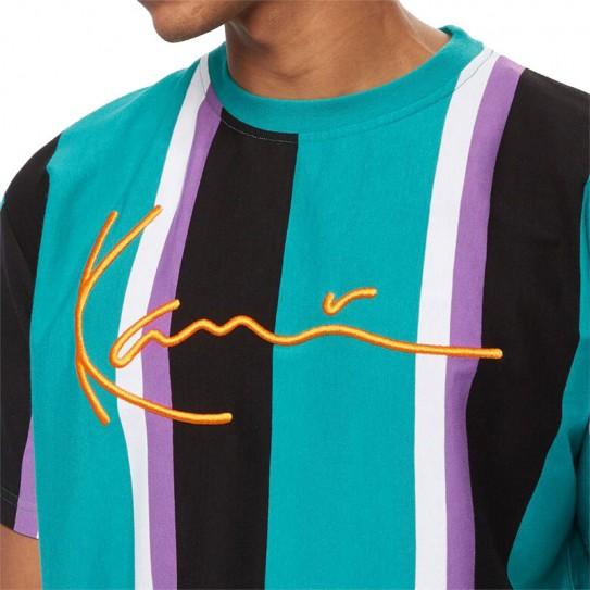 T-shirt à rayures Karl Kani