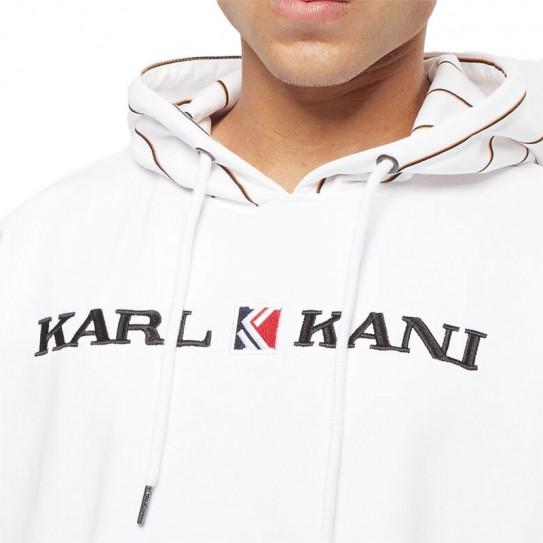 Sweat à capuche Karl Kani Rétro Pinstripe
