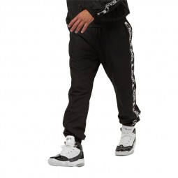 Pantalon Karl Kani OG tape Trackpants noir