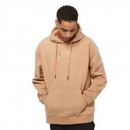 Sweat à capuche Karl Kani Small Signature Box beige
