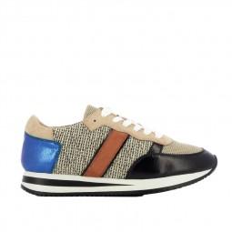 Chaussures Vanessa Wu BK2161 beige camel bleu