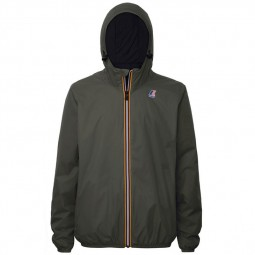 Blouson K-Way Le Vrai Claude Warm kaki