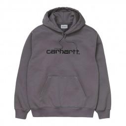 Sweat à capuche Carhartt gris