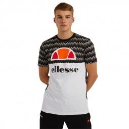 T-Shirt manches courtes Ellesse Arbatex noir blanc