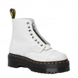 Dr. Martens plateforme Sinclair milled Nappa blanches