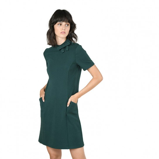 Robe courte droite Molly Bracken