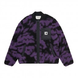 Polaire Carhartt Janet Liner camo violet