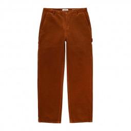Pantalon femme Carhartt Pierce Pant marron cognac