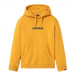 Sweat à capuche Napapijri Box jaune