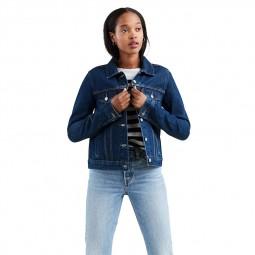 Veste en jean Levi's Original Trucker Jacket bleu stone