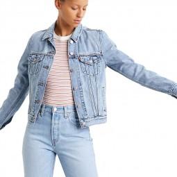 Veste en jean Levi's Original Trucker Jacket bleu clair
