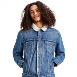 Sherpa Levi's Trucker Jacket bleu clair