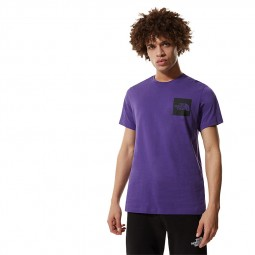 T-shirt The North Face S/S Fine Tee violet
