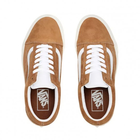 Chaussures Vans Old Skool PIg Suede
