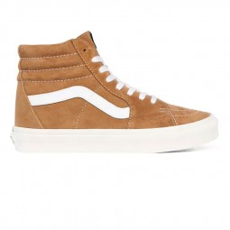 Chaussures Vans SK8-Hi Pig Suede beige