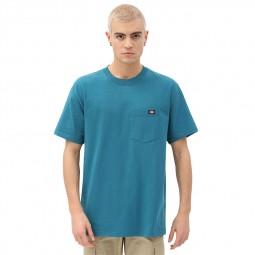 T-shirt Dickies Porterdale bleu