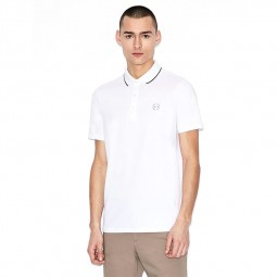 Polo Armani Exchange blanc