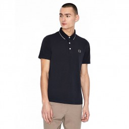 Polo Armani Exchange bleu marine