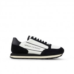 Chaussures Armani Exchange Sneakers blanc noir