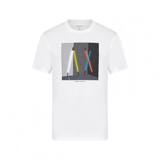 T-shirt col rond Armani Exchange