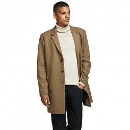 Manteau Jack & Jones Moulder Wool Coat khaki camel