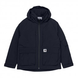 Blouson à capuche Carhartt Bode Jacket bleu marine