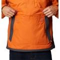 Veste enfilable demi zip Columbia Challenger orange gris