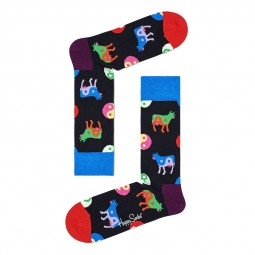 Chaussettes Happy Socks Ying Yang Cow