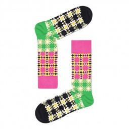 Chaussettes Happy Socks Tartan Square multicolore