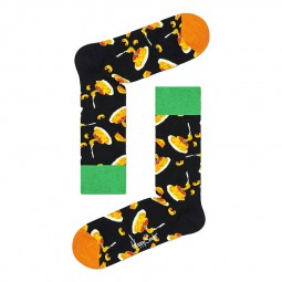 Chaussettes Happy Socks Mac And Cheese noires