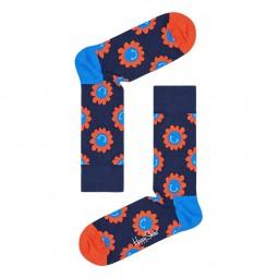 Chaussettes Happy Socks Smile Flower bleu marine