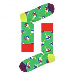 Chaussettes Happy Socks Poke Bowl vertes