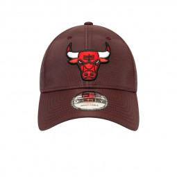Casquette New Era Chicago Bulls bordeaux