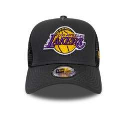 Casquette New Era Los Angeles Lakers gris foncé