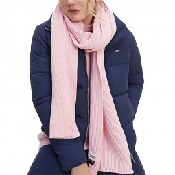 Écharpe Tommy Jeans rose
