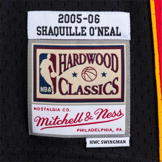 T-shirt Mitchell & Ness Shaquille O'neal Miami Heat 32