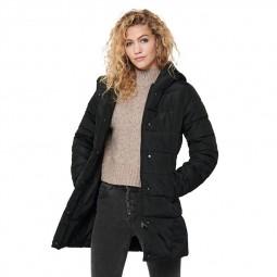 Manteau matelassée Only noir