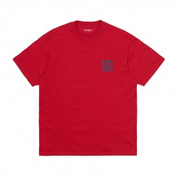 T-shirt Carhartt WIP State Rocket rouge
