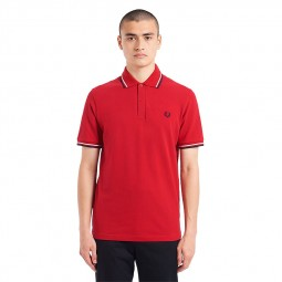 Polo Fred Perry M12 L18 rouge